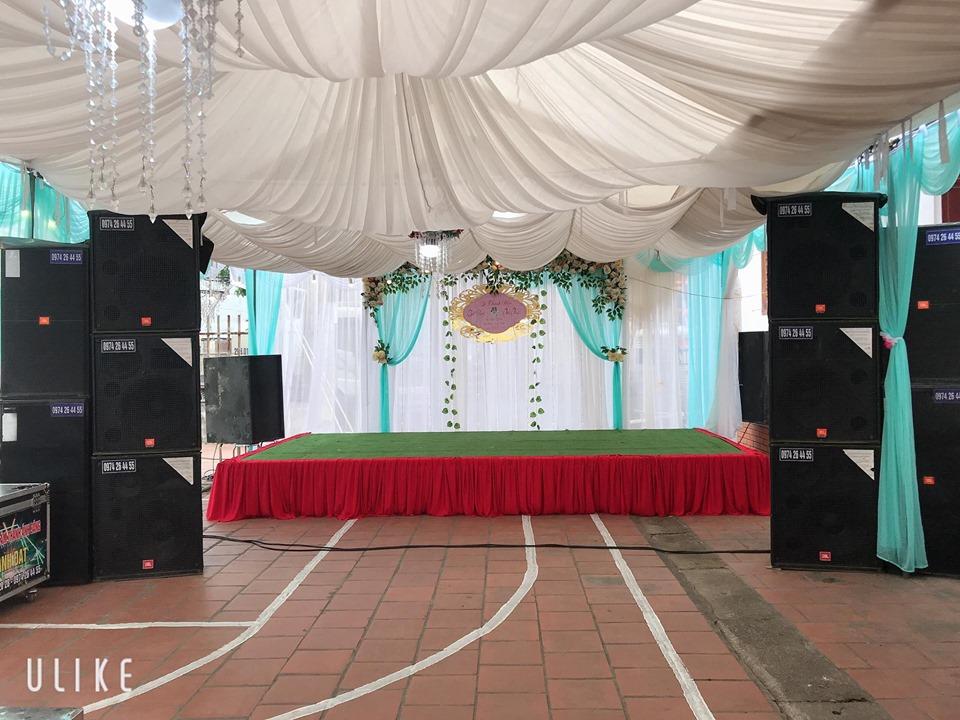 Cho thuê loa đài đám cưới tại Hà Nội