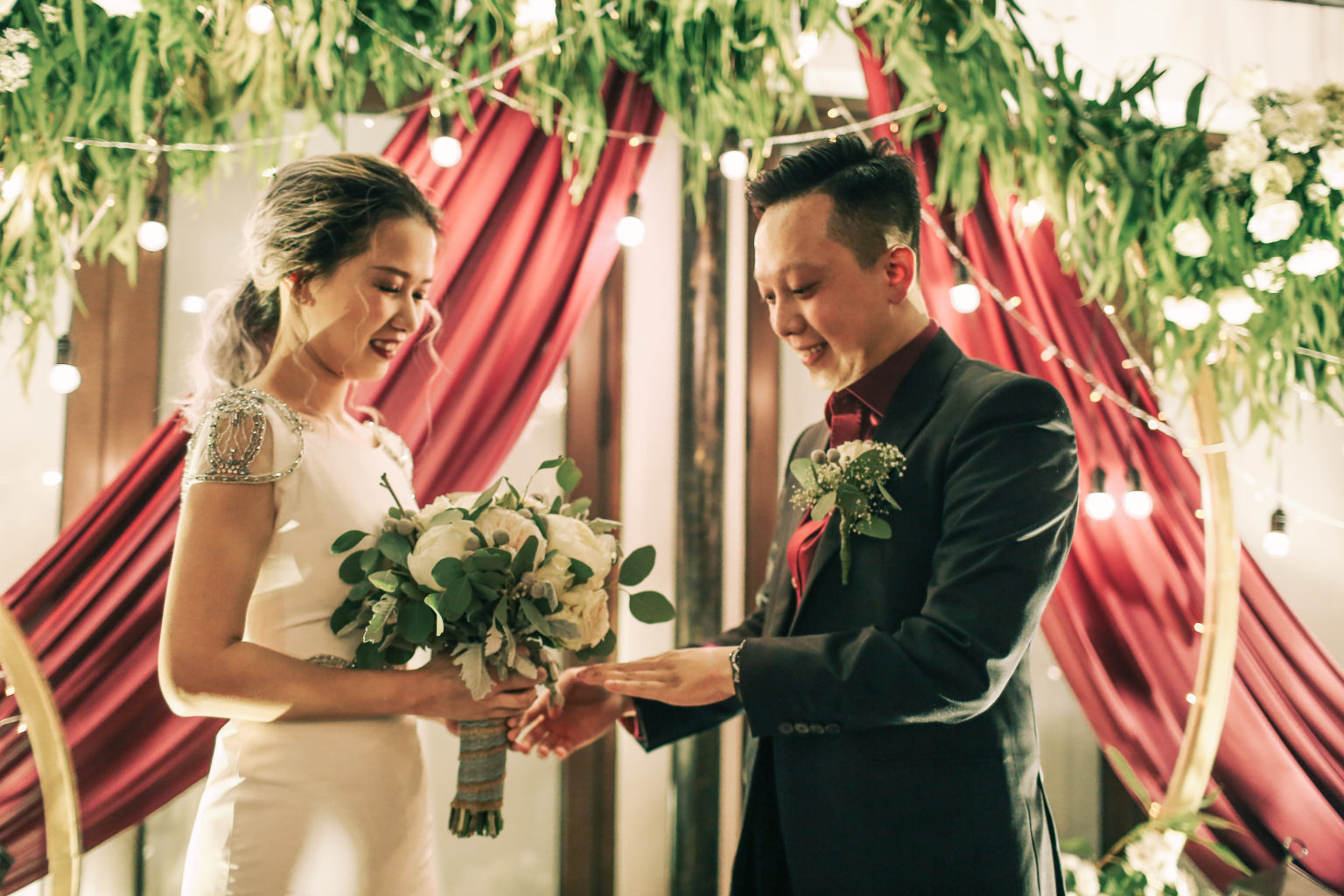Trình tự các bước tổ chức Lễ thành hôn