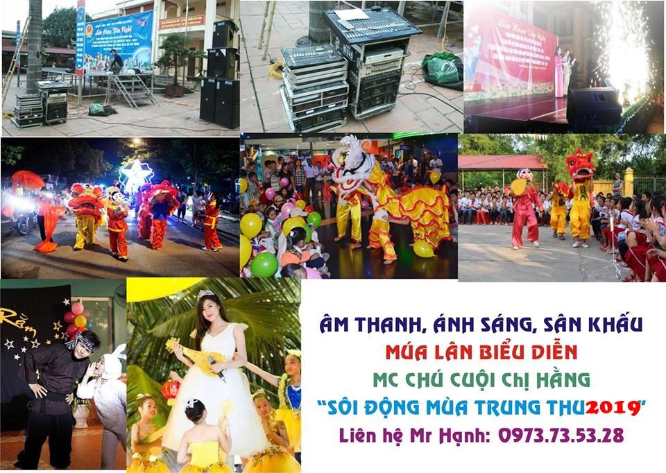 Tổ chức sự kiện Trung thu chuyên nghiệp cho thiếu nhi tại Hà Nội